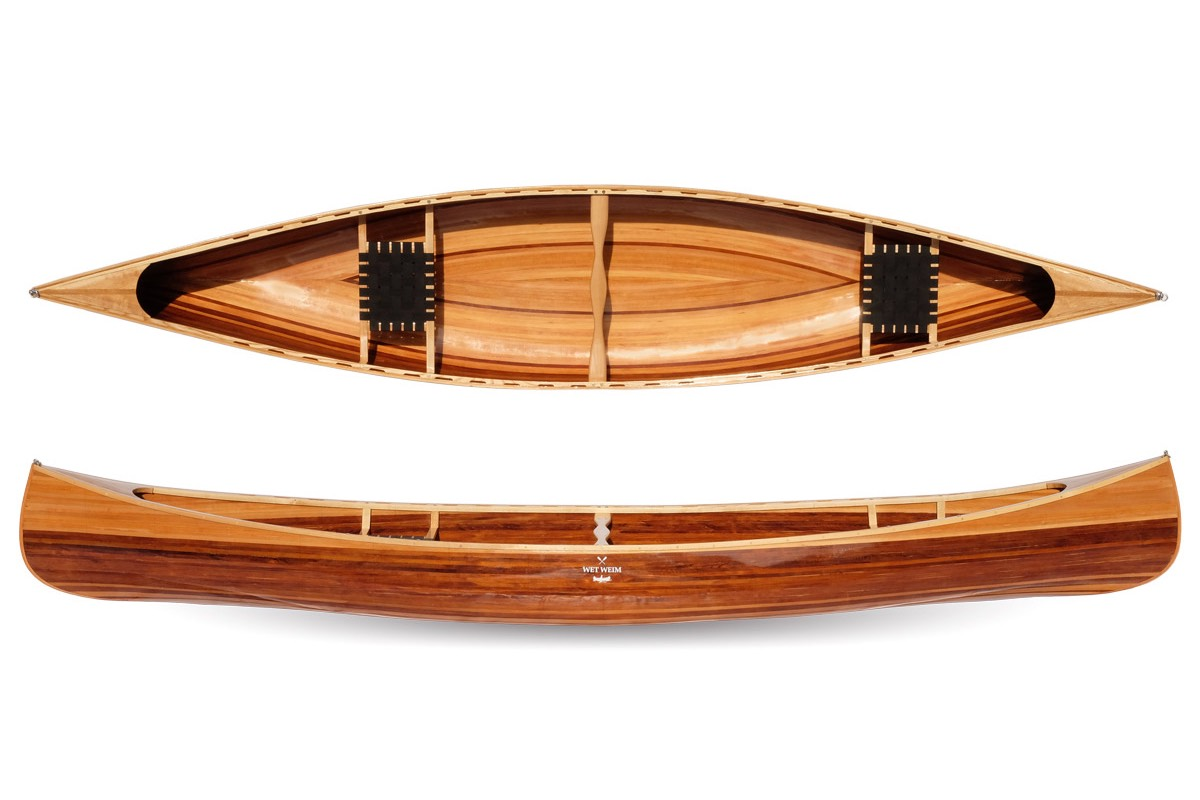 Cedar Strip Canoes By Wet Weim I Proudly Made In Lithuania