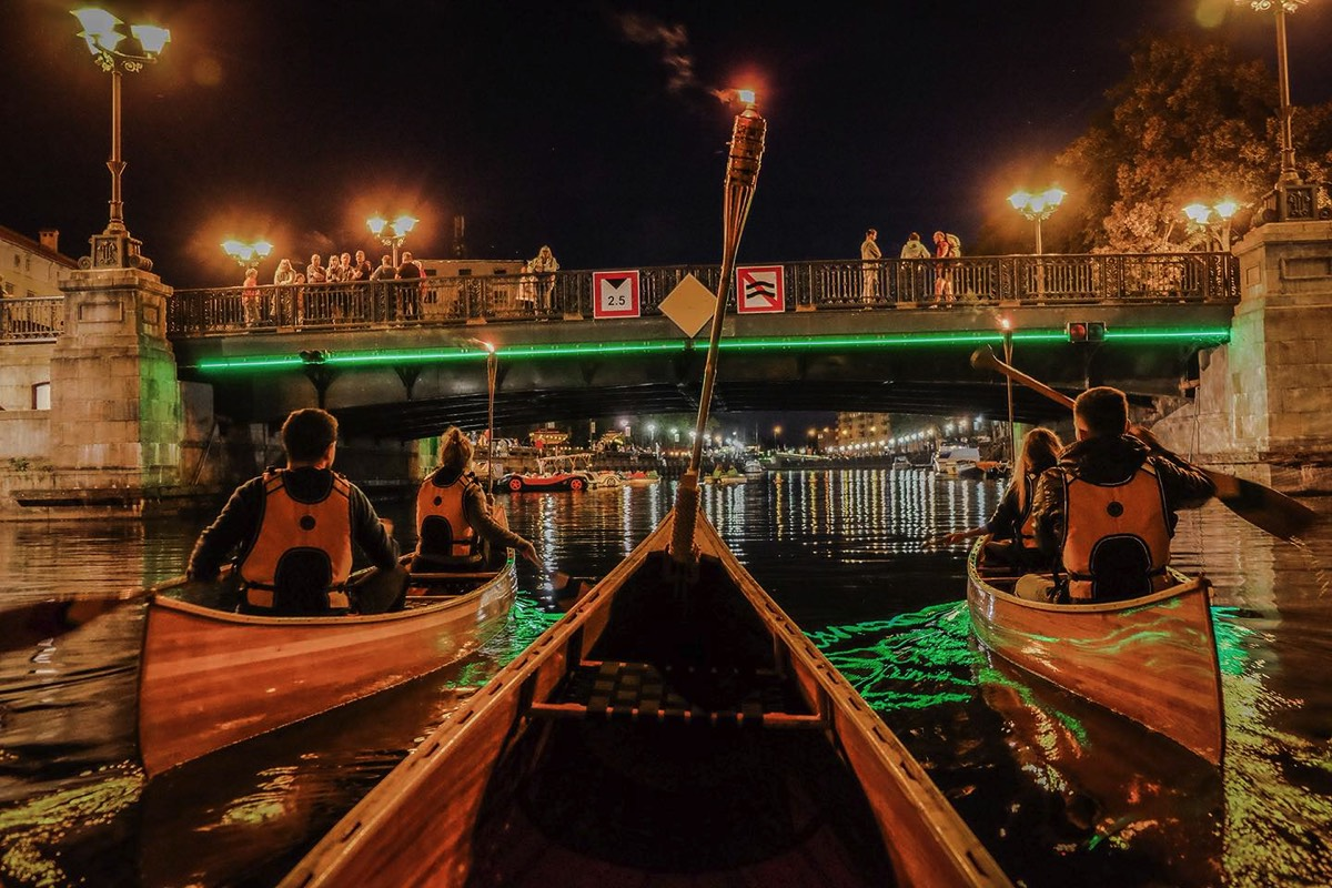 Night Klaipeda tour