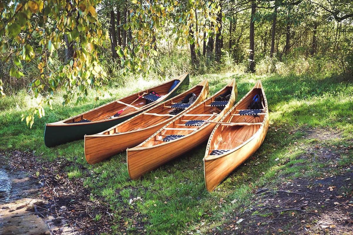 Cedars strip canoes
