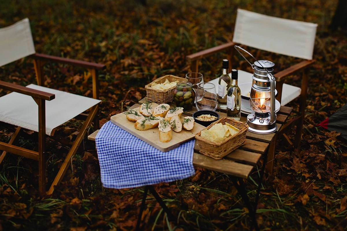 Romantic picnic set